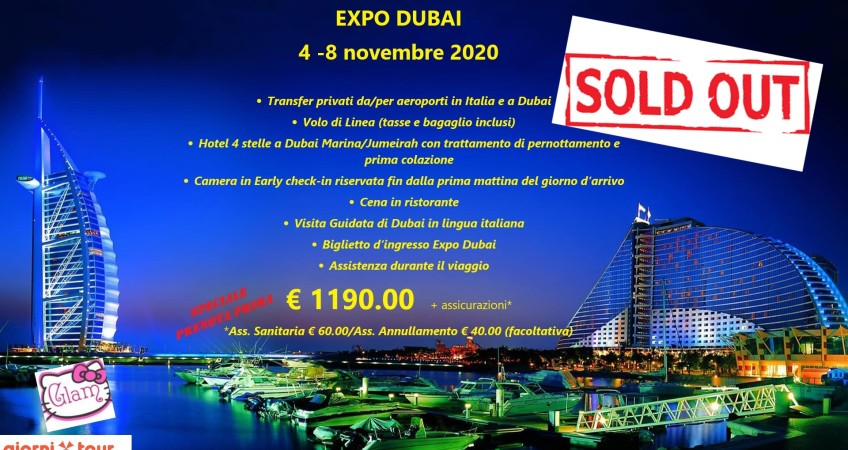 dubai glam end sold out